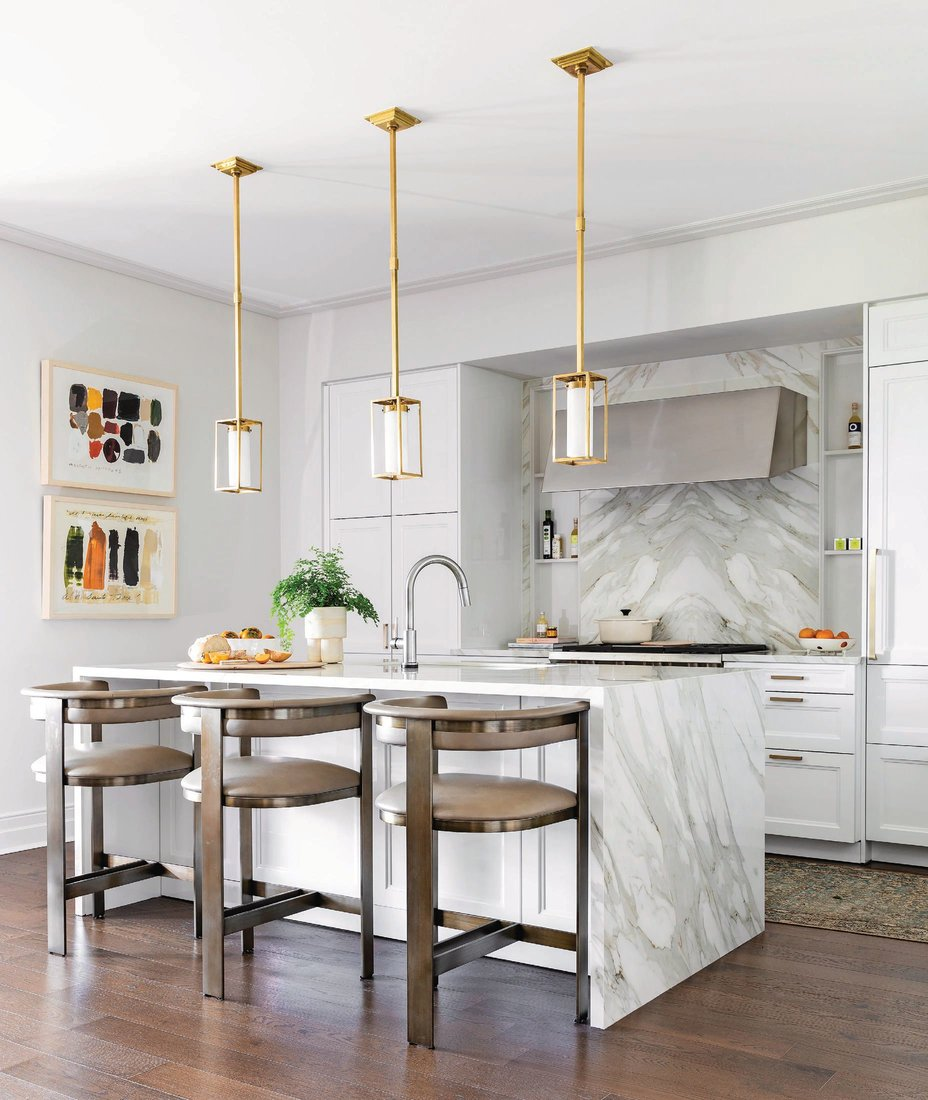 A sneak peek inside one of Julie Dodson's projects featuring a kitchen bathed in natural light PHOTO BY SUSIE DODSON
